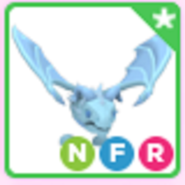 Roblox Adopt me Neon Fly Ride NFR Frost