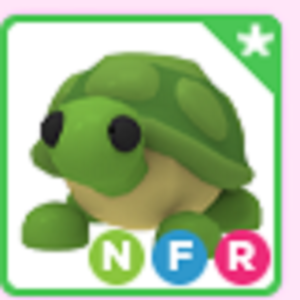 Roblox Adopt me Neon Fly Ride NFR Turtle