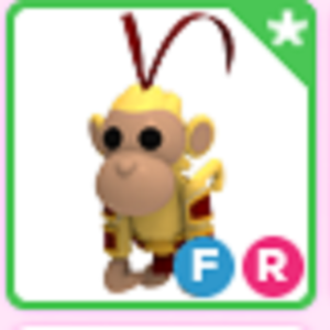 Roblox Adopt me Fly Ride FR King Monkey