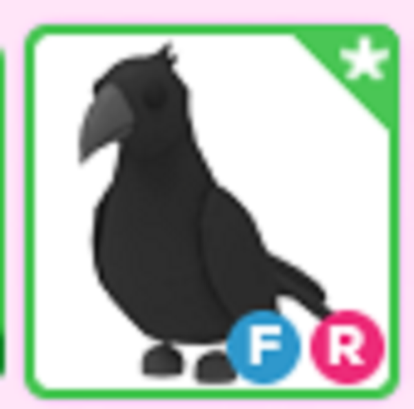 Roblox Adopt me Fly Ride FR Crow