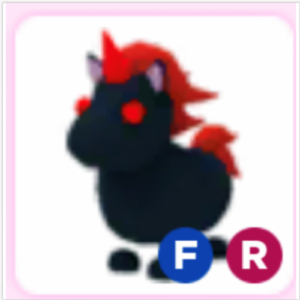 Roblox Adopt me Fly Ride FR Evil Unicorn