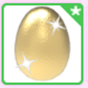 Roblox Adopt me Golden Egg