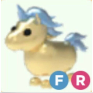 Roblox Adopt me Fly Ride FR Golden Unicorn
