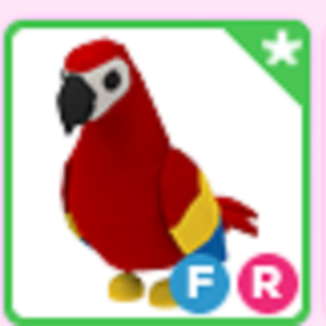 Roblox Adopt me Fly Ride FR Parrot