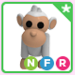 Roblox Adopt me Neon Fly Ride NFR Albino Monkey
